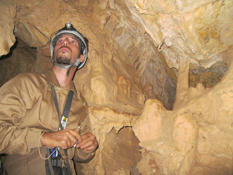 Galerías inferiores de la Cueva del Guadalora