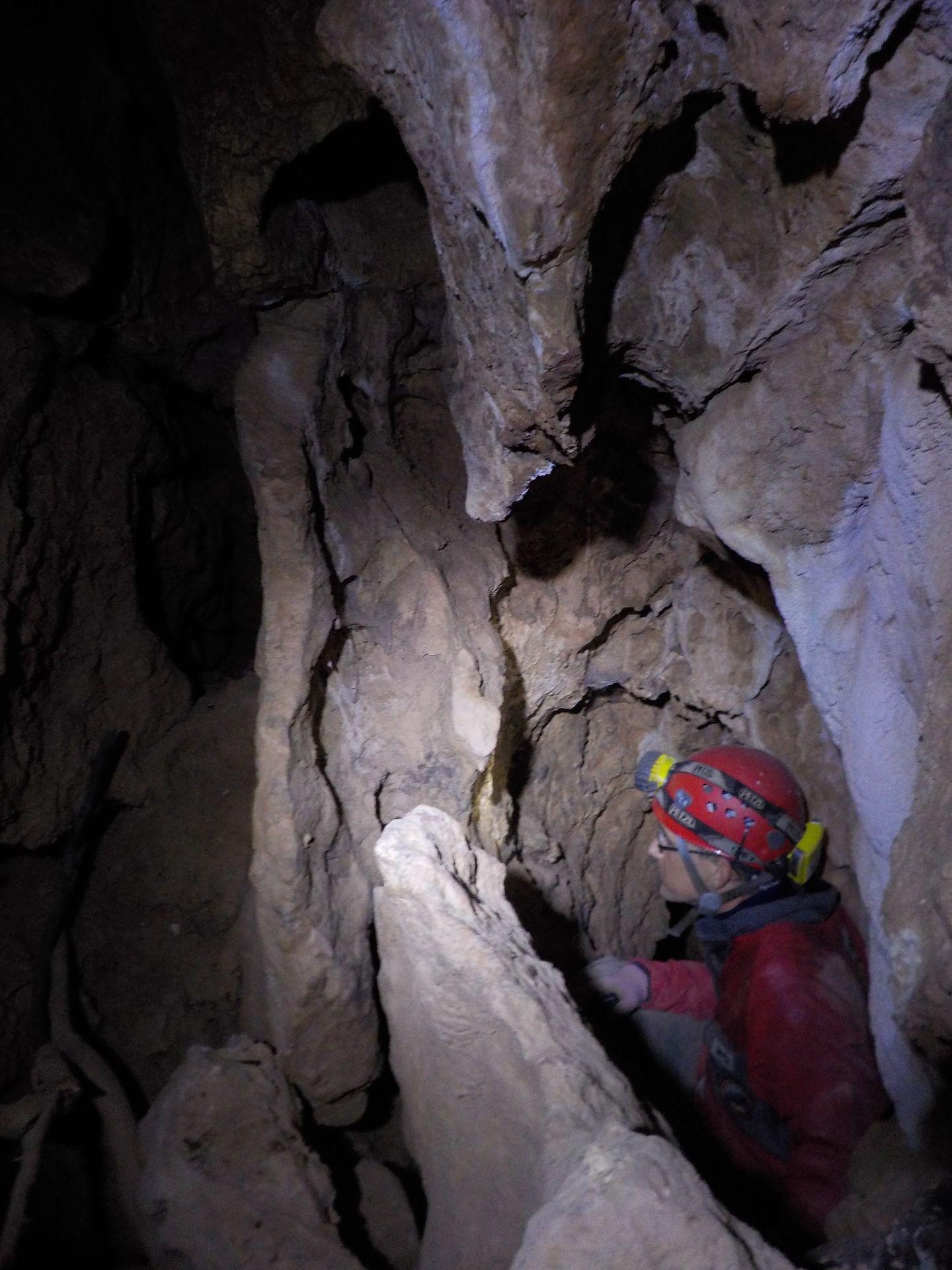 Nuevas galerías de la Cueva del Guadalora