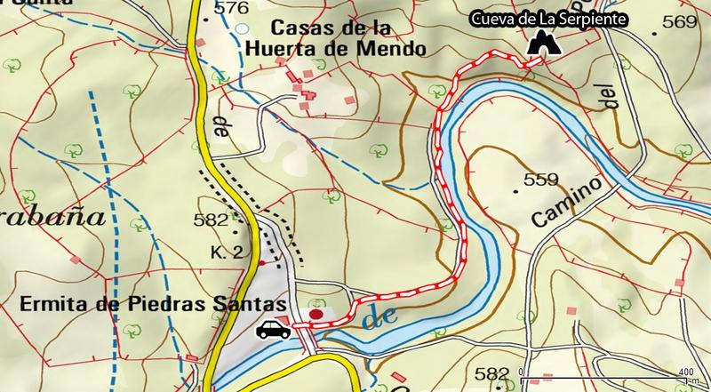 Cueva de La Serpiente (Pedroche, Córdoba) - Cómo llegar