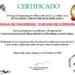 Cuevas de Córdoba, divulgador y protector de murciélagos