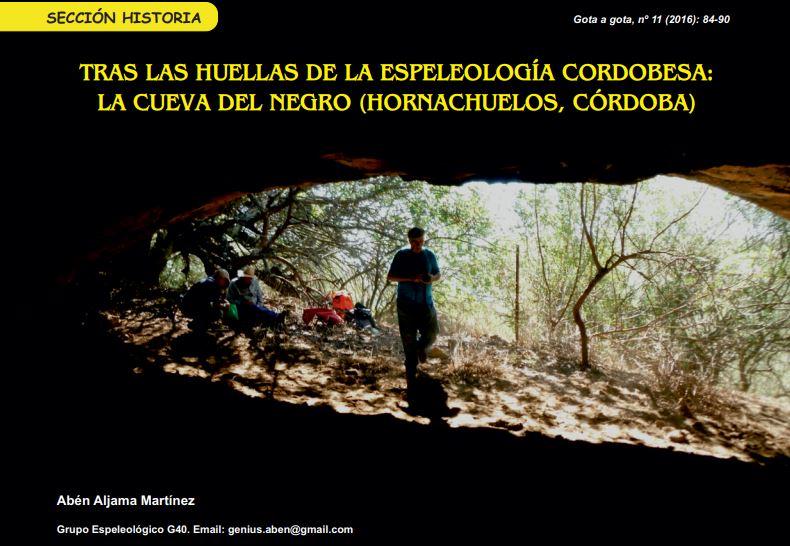 La Cueva del Negro (Hornachuelos)