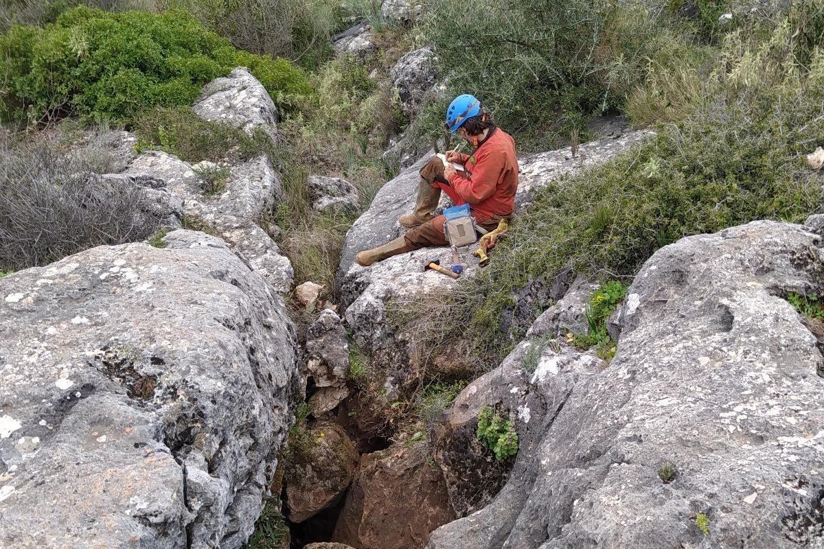 Abén Aljama Martínez - Cuevas de Córdoba - Espeleología