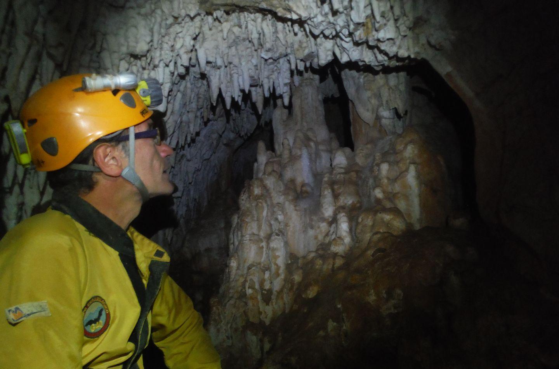 La Cueva del Guadalora supera los 400 metros de galerías