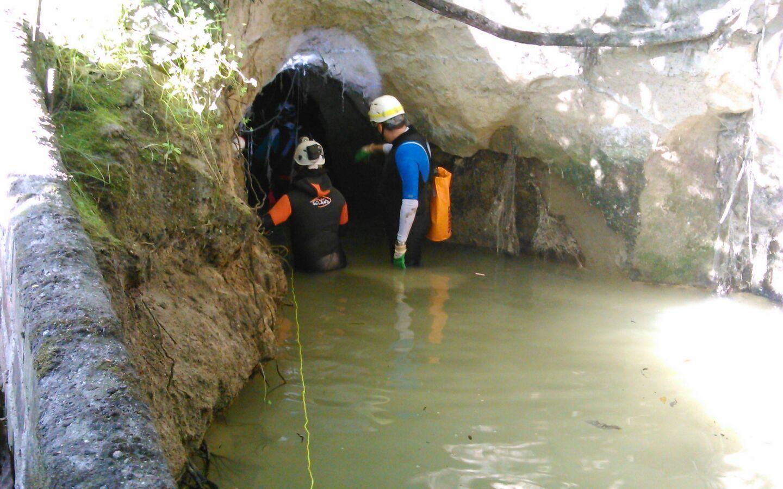 Topografiada la Mina de agua de Tentecarretas