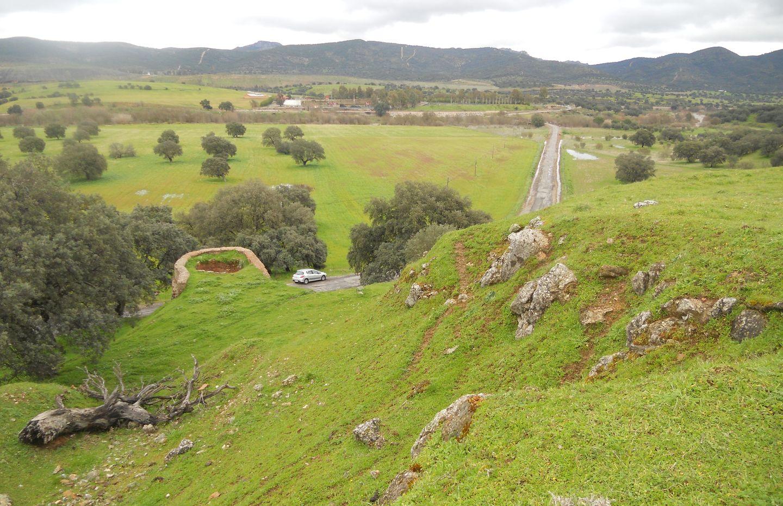 Prospección sobre el terreno en las inmediaciones de Villanueva el Rey