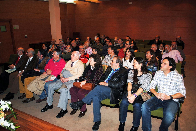 Público asistente a la presentación del libro del GEJAM