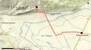 Cueva Traviesa (Hornachuelos, Córdoba) - Cómo llegar
